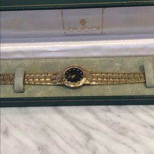 RARE 18K GUCCI natural diamonds 💎 vintage piece!
